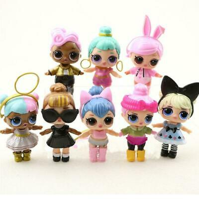 8 Pcs Lol Surprise Doll Lil Sisters LIL Cute Baby Tear Girl Educational Toy Gift