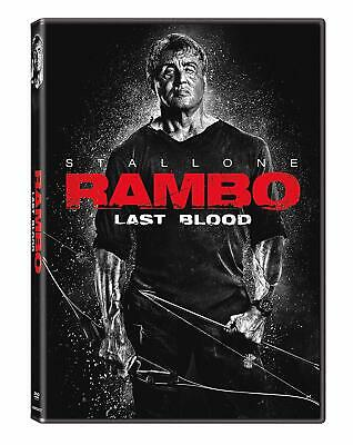 Rambo Last Blood DVD 2019 Sylvester Stallone BRAND NEW - FREE SHIPPING