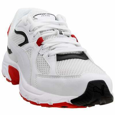 Puma Axis Plus 90s Sneakers Casual Running Performance Sneakers White Mens -