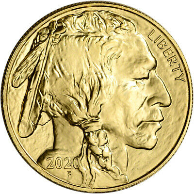 2020 American Gold Buffalo 1 oz 50 - BU