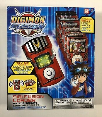 Digimon Fusion DigiFusion Loader - BRAND NEW - Factory Sealed - Digi Fusion