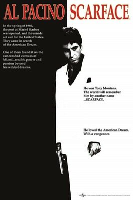 SCARFACE MOVIE POSTER size 24x36