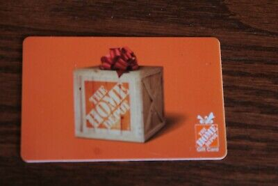 50-00 Home Depot Gift Card   - Fast Shipping No Expiration Dates