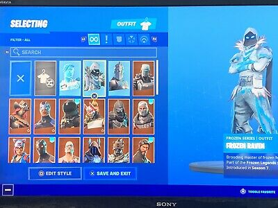 EXTREMELY RARE Fortnite Account READ THE DESCRIPTION