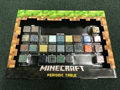 Minecraft Periodic Table of Elements Mattel Brand New