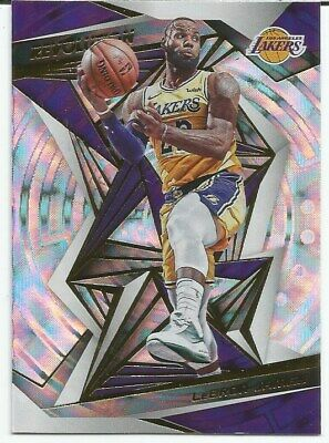 2019-20 PANINI REVOLUTION LEBRON JAMES FRACTAL SP 14 LOS ANGELES LAKERS