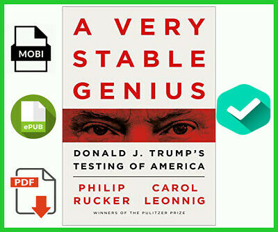 ✅A Very Stable Genius Donald J- Trumps Testing of America✅⚡️Fast Delivery⚡️