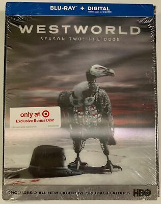 NEW WESTWORLD SEASON 2 THE DOOR BLU RAY-DIGITAL TARGET EXCLUSIVE LENTICULAR