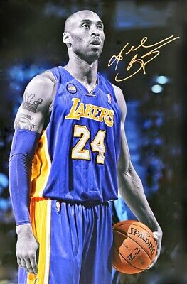 KOBE BRYANT LAKERS LEGEND POSTER size 24x36