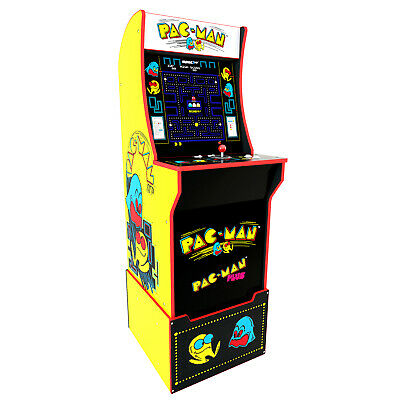Arcade1Up - Pac-Man Arcade Cabinet with Custom Riser Brand New