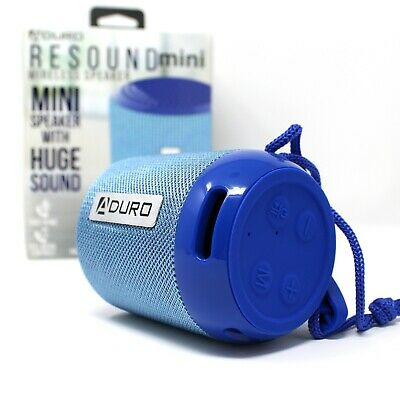 Aduro RESOUND Mini Portable Wireless Bluetooth Speaker Outdoor Bass USB TF AUX