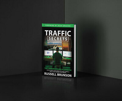 New Traffic Secrets Audiobook by Russell Brunson - 2 Secret High Value Bonuses