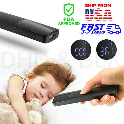 LCD Digital Infrared Forehead Thermometer Gun Non-contact Temperature Body Baby