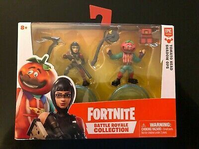 NEW Fortnite Battle Royale Collection Duo Pack Tomato Head - Shadow Ops Figures