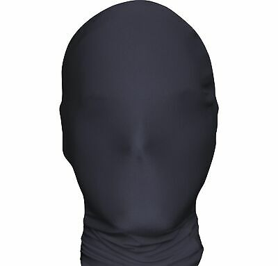 Black MorphMask Halloween Costume Accessories One Size by AFG Media LTD