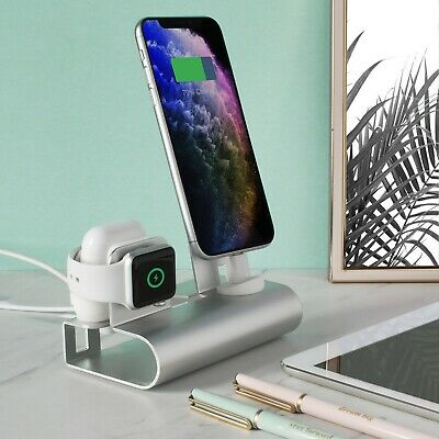 Aduro Desktop Charging Station for iPhone Apple Watch - Air Pods Universal Stand