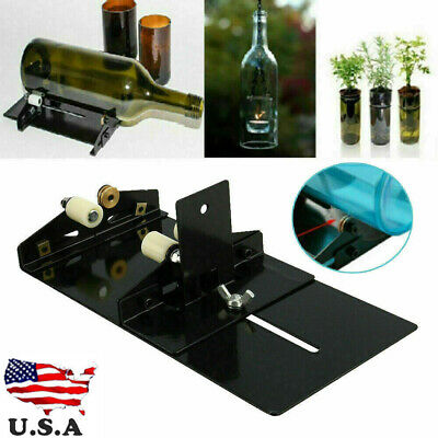 NEW Glass Bottle Cutter Kit Glass Cutting Machine Tool for Jar Recycle DIY Craft