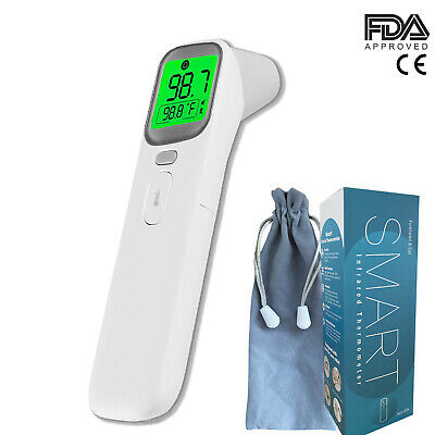 Medical Grade NON-CONTACT Infrared Forehead Thermometer BabyAdultFDA approved