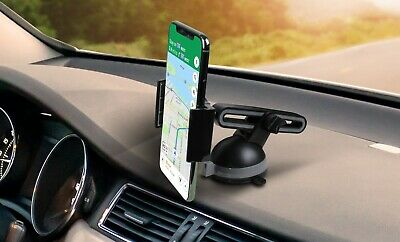 Aduro Slide Car Cell Phone Mount Extendable Arm Holder Dash Board Suction Cup