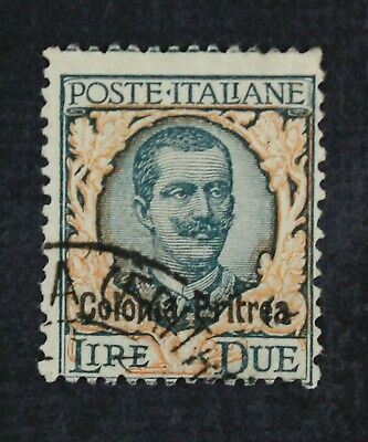 CKStamps Italy Stamps Collection Eritrea Scott31 Used