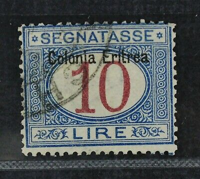 CKStamps Italy Stamps Collection Eritrea ScottJ11 Used