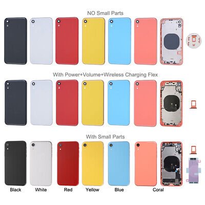 Back Glass Housing Battery Cover Frame For iPhone X XR XS Max 11 Pro SE 2nd Lot