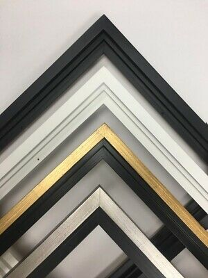 Gold Floater Frame for 34 and 112 deep Canvas