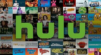 HULU LIVE HBOMAX CINEMAX SHOWTIME STARZ UNLIMITED SCREENS 1USER 1week