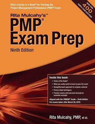 PMP Exam Prep 9th Edition by Rita Mulcahy ⚡️P-D-F⚡️ ✅ Fast Delivery ✅