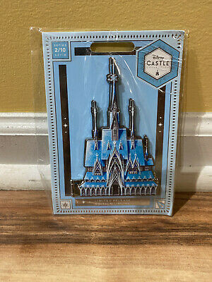 IN HAND  Frozen Castle Pin Disney Castle Collection Limited Release