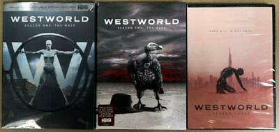 Westworld Complete Seasons 1-3 DVD 9-Disc Set FreeFast Shipping