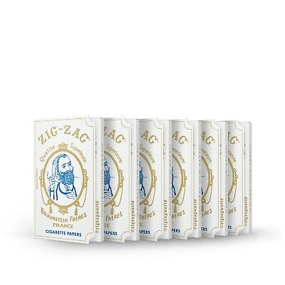 Zig-Zag Rolling Papers Original White 70 mm 6 Pack