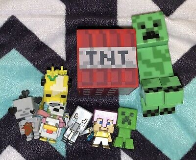 Minecraft Figure Lot Of 7
