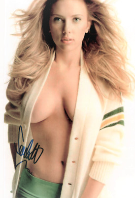 Autographed Scarlett Johansson 8 X 10 photo So Sexy signed in person wCOA