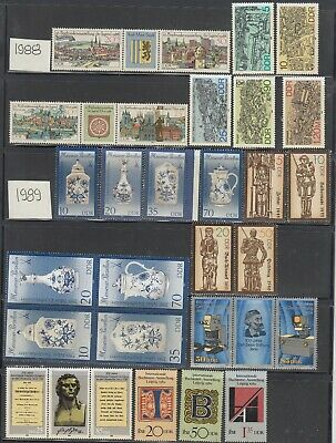 Germany DDR 1988-1990 Mint never hinged Collection