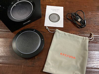 Kaysuda Bluetooth Conference Speakerphone Wireless Microphone and Speaker