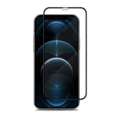 Tempered Glass Screen Protector for iPhone 12 11 Pro Max XR Xs SE 8 7-Full Cover
