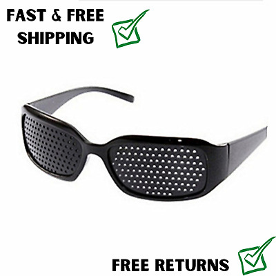Pinhole Glasses Small Holes Vision Correction Eye Exercise Anti-Myopia