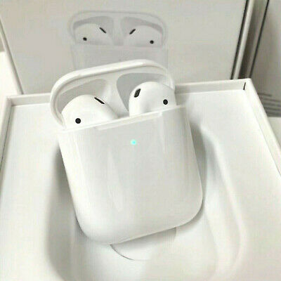 Refurbish AirPods 2nd Bluetooth Headset Earbuds with Charging Case
