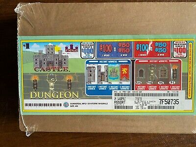 Mix Titles Double Sided Tabs  1 Window Pull Tab 450 Tickets Free Ship USA