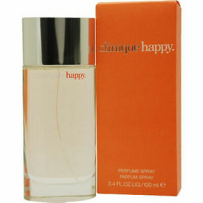 EDP Spray for women NEW IN BOX Happy by Clinique 3-3  3-4 oz Perfume