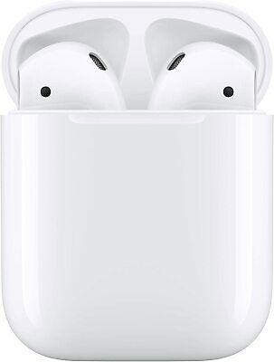 Apple Airpods 2nd Generation Bluetooth Earbud Earphones Headset W Charging Box