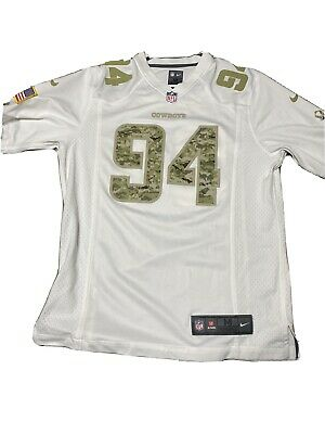 Dallas Cowboys Demarcus Ware Salute To Service On Field Nike Jersey SizeM by