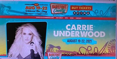 Barefoot Country Music Fest 2021 tickets