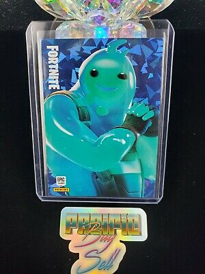 Fortnite Series 2 - Rippley Blue Cracked Ice Rare Outfit Panini America