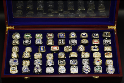 ALL Championship Rings NFL 1933-2020 years SUPER RINGS BOWL