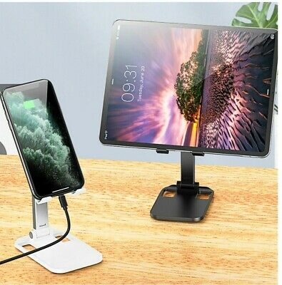 Foldable Adjustable Desktop Stand Holder For Cell Phone Tablet Ipad Iphone