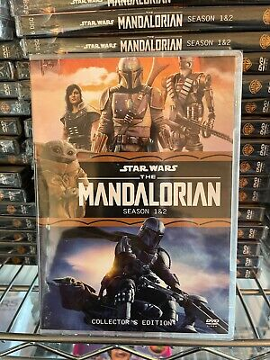The Mandalorian  Complete Season 1-2 DVD Brand New  Free Shipping