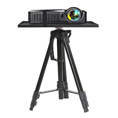 Adjustable Tripod Stand With Tray Laptop Projector Camera Outdoor Home Office