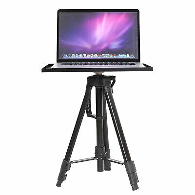 PortableAdjustable Tripod StandTable for ProjectorLaptop DJ with Tray Studio
